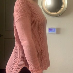Pink sweater WORN ONCE